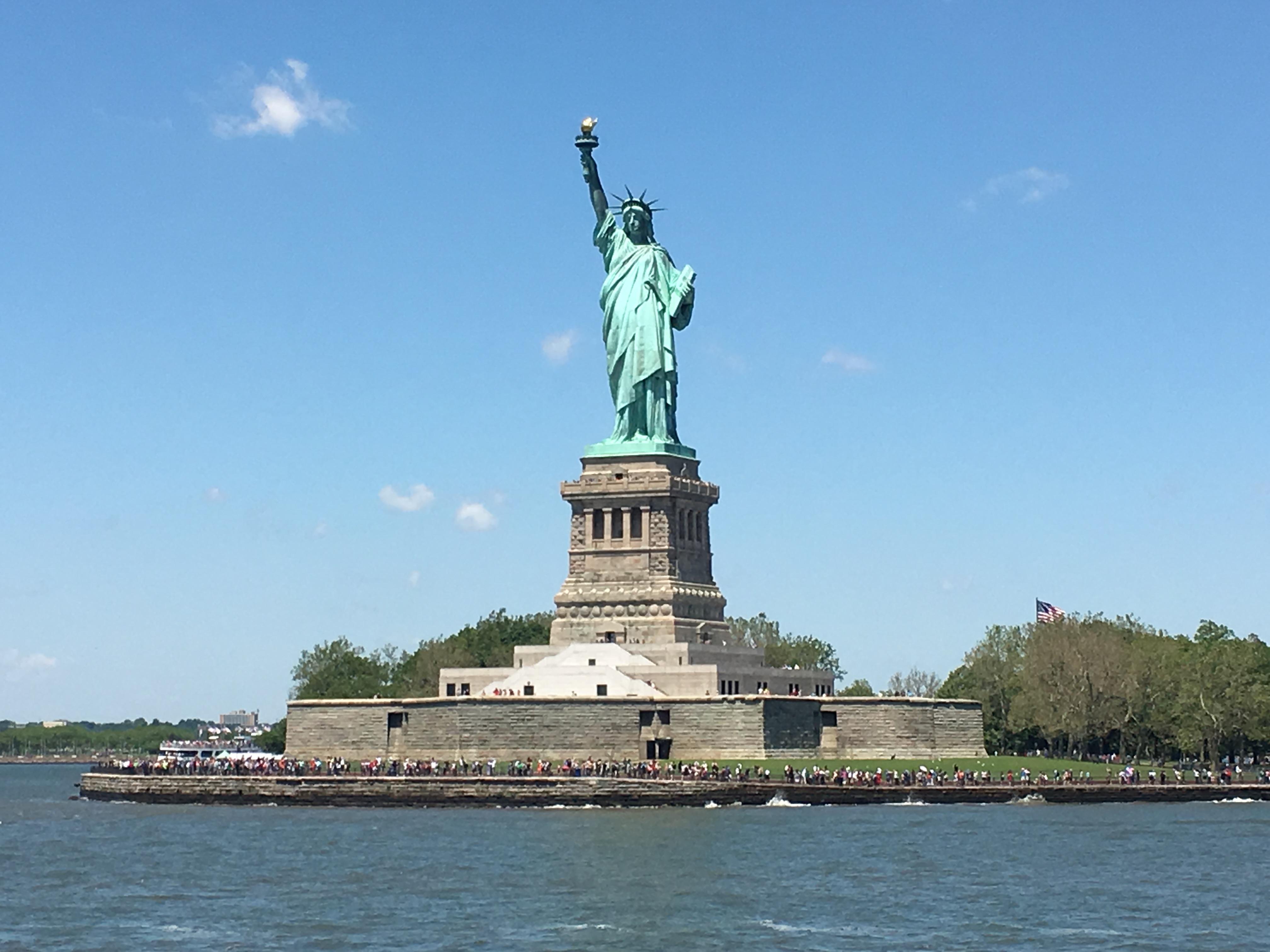 Freiheitsstatue, Statue of Liberty, New York Hafen