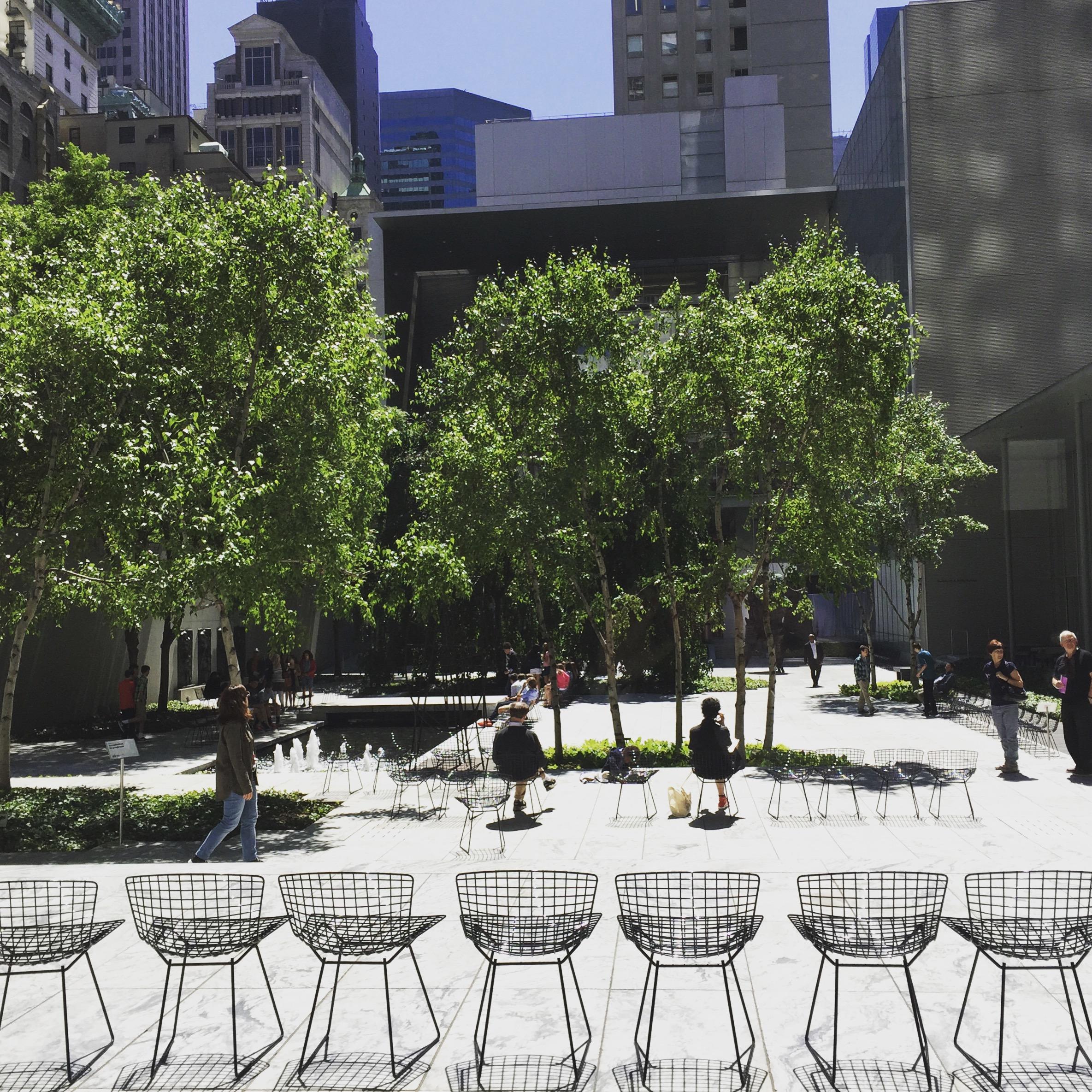 Garten vom Museum MoMA, Manhattan