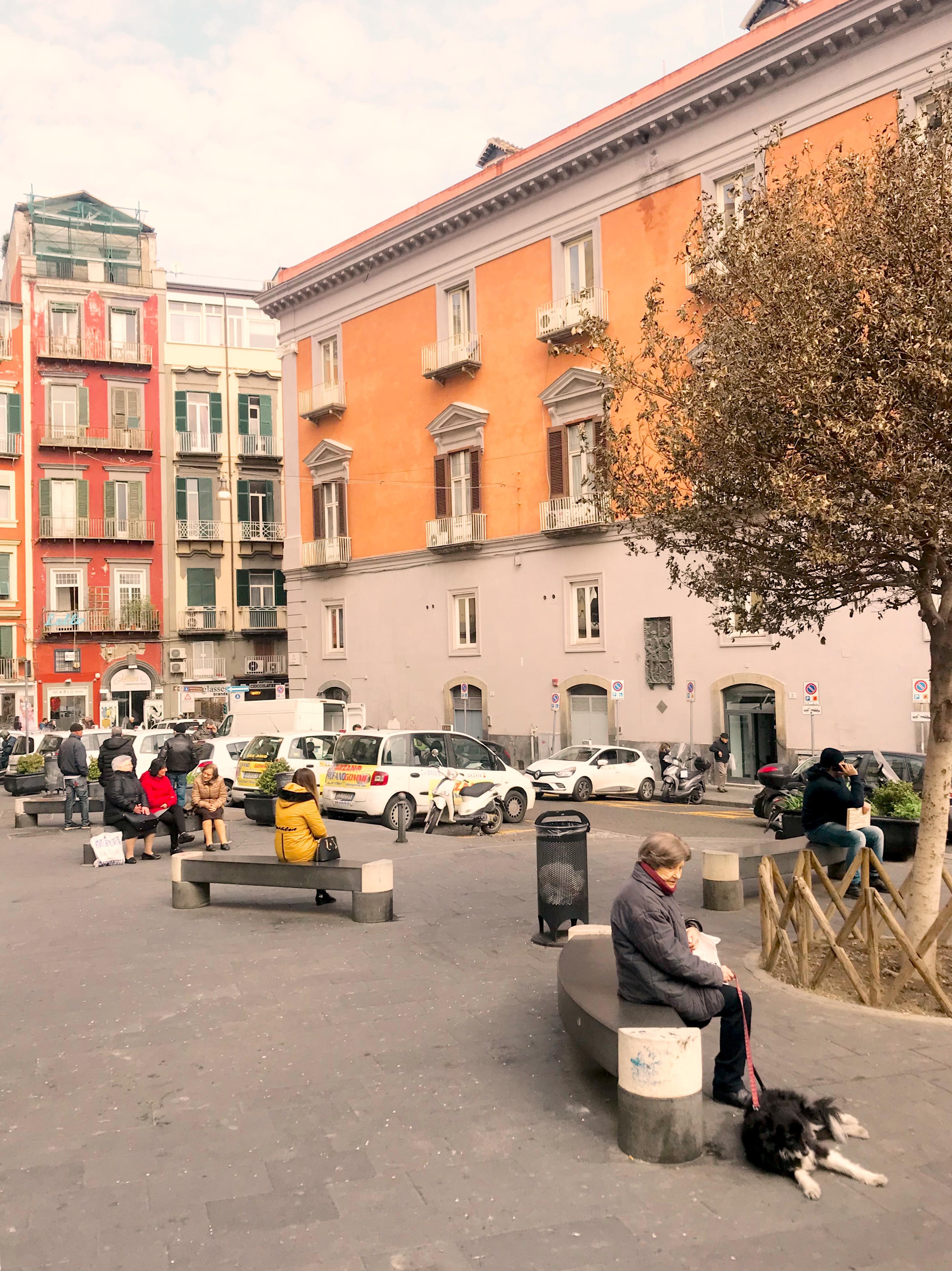 Fussgängerzone in Neapel